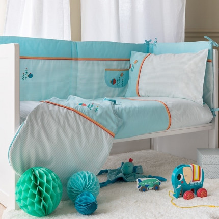 Parure de lit bébé NOA