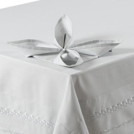Serviette de table PLEIADE PERLE