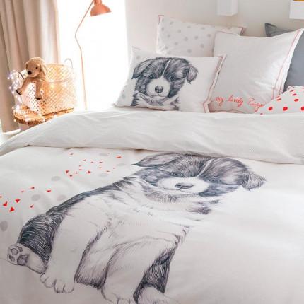 Parure de lit coton Puppy