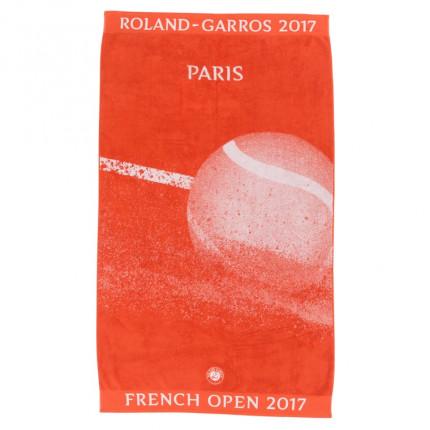 Serviette de plage Roland Garros 2017 TERRE BATTUE