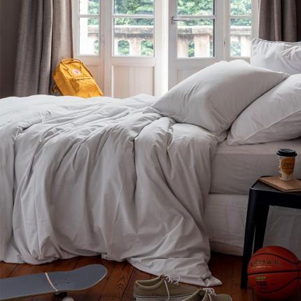 Parure de lit enfant en pur coton lavé biologique Souffle nuage