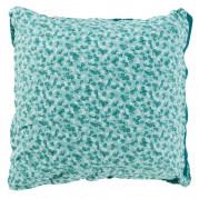 Taie d'oreiller carrée percale de coton imprimée liberty fleurs Ondine