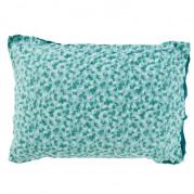 Taie d'oreiller rectangulaire percale de coton imprimée liberty fleurs Ondine