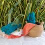 Serviette de toilette CHIARA papaye
