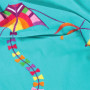 Serviette de plage enfant velours cerfs volants japonais KIYO