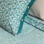 Taie d'oreiller carrée percale de coton imprimée liberty fleurs Ondine - 7