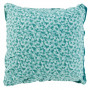 Taie d'oreiller carrée percale de coton imprimée liberty fleurs Ondine - 0