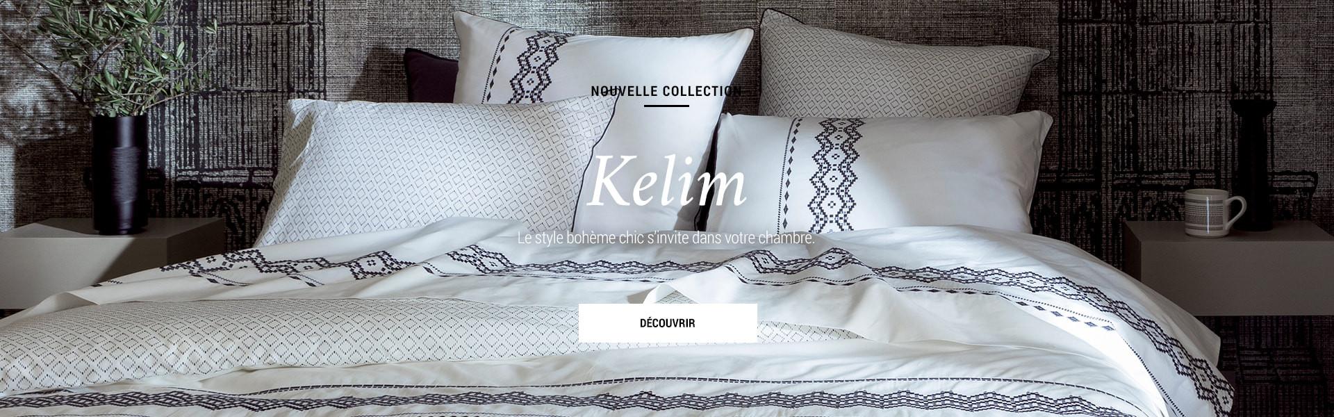 linge de maison carr blanc linge de lit de bain et de table. Black Bedroom Furniture Sets. Home Design Ideas