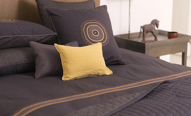 Linge de lit de qualit parure haut de gamme pour le lit - Parure de lit haut de gamme ...