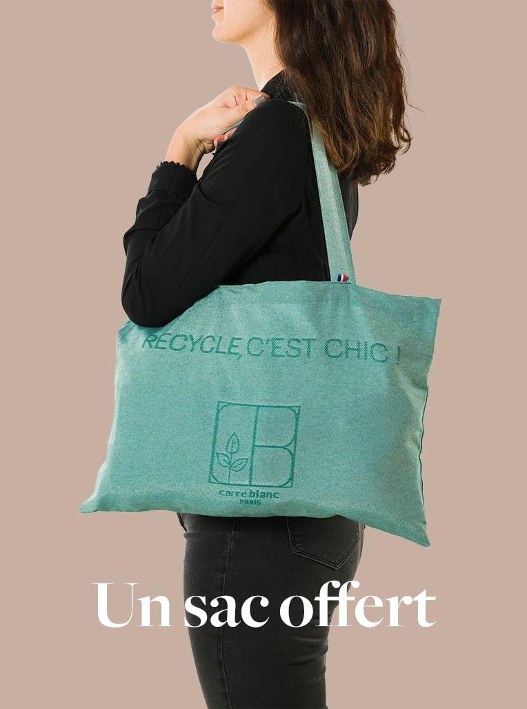 Un sac recyclé offert