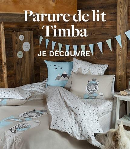 Parure de lit Timba