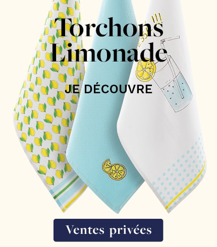 Torchons Limonade