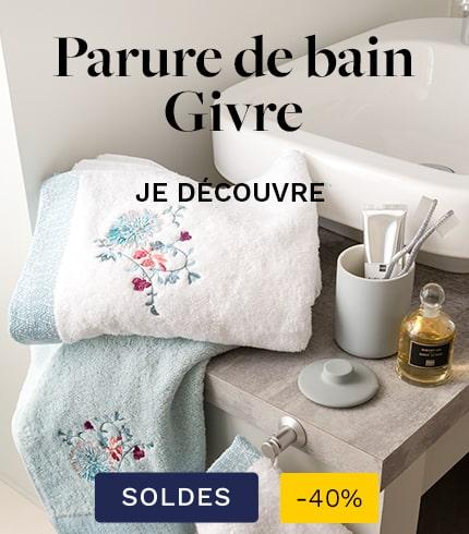 Parure de bain Givre