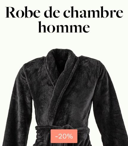 Peignoir homme Couture