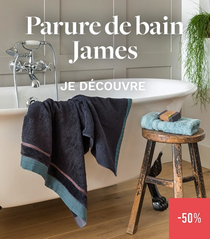Parure de bain James
