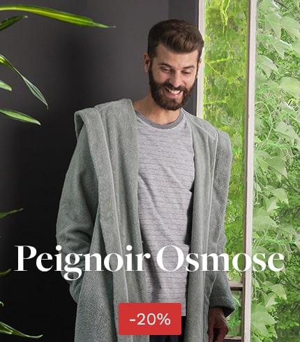 Peignoir homme Osmose