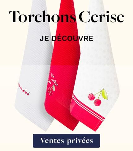 Torchons Cerise