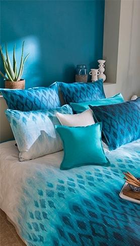 linge de lit de qualit parure haut de gamme pour le lit carr blanc. Black Bedroom Furniture Sets. Home Design Ideas